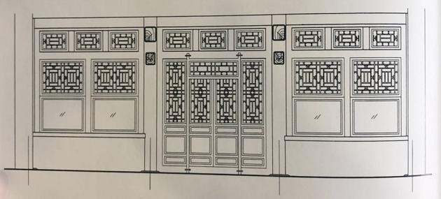 北京四合院的倒挂楣子和坐凳楣子(第二十七