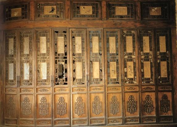 北京四合院内檐裝修之博古架4(第二十九期