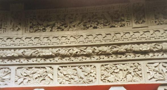 北京四合院的影壁砖雕影壁1(第三十期)