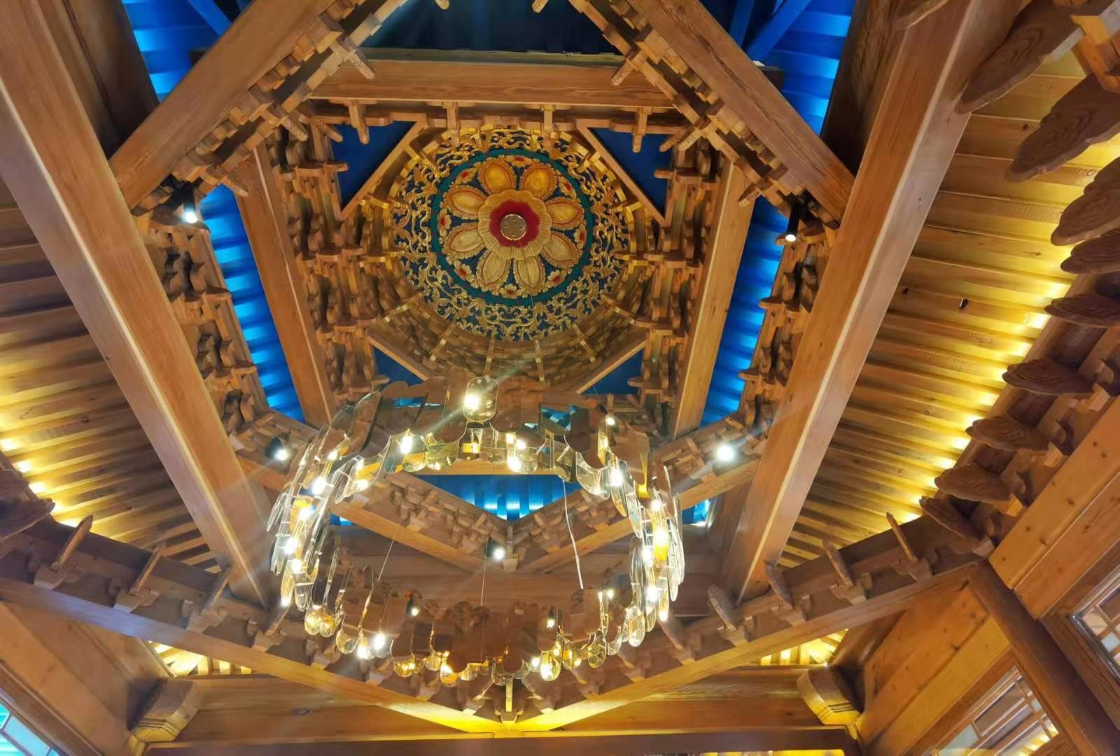 中国古建筑的最高艺术——藻井,体验有限空