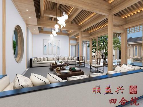 【出租】張自忠新中式精裝修四合院