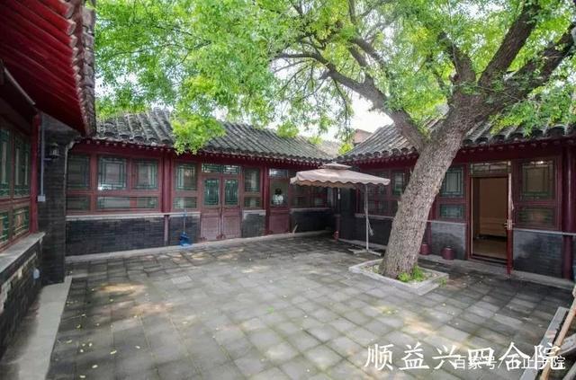 西四传统四合院 ,最美中国风,构建古建筑
