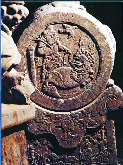 李松堂 守护门墩里的传统文化