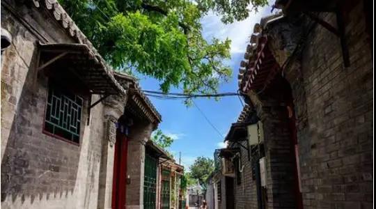 在北京胡同中找尋沉靜、恬淡的生活