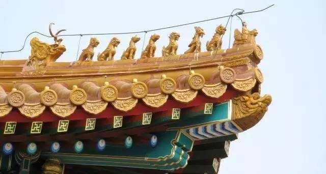 老北京的五脊六兽是什么意思?